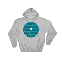 Big Dipper Unisex Hooded Sweatshirt, Collection Fjaka-Sport Grey-S-Tamed Winds-tshirt-shop-and-sailing-blog-www-tamedwinds-com