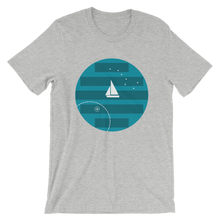 Big Dipper Unisex T-Shirt, Collection Fjaka-Athletic Heather-S-Tamed Winds-tshirt-shop-and-sailing-blog-www-tamedwinds-com