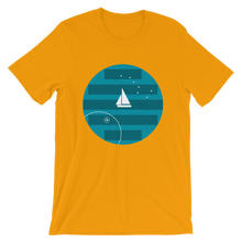 Big Dipper Unisex T-Shirt, Collection Fjaka-Gold-S-Tamed Winds-tshirt-shop-and-sailing-blog-www-tamedwinds-com