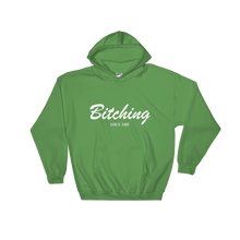 Bitching Unisex Hooded Sweatshirt, Collection Nicknames-Irish Green-S-Tamed Winds-tshirt-shop-and-sailing-blog-www-tamedwinds-com