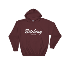 Bitching Unisex Hooded Sweatshirt, Collection Nicknames-Maroon-S-Tamed Winds-tshirt-shop-and-sailing-blog-www-tamedwinds-com
