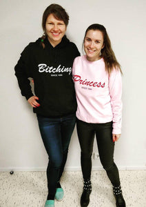 Bitching Unisex Hooded Sweatshirt, Collection Nicknames-Tamed Winds-tshirt-shop-and-sailing-blog-www-tamedwinds-com