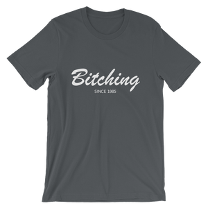 Bitching Unisex T-Shirt, Collection Nicknames-Asphalt-S-Tamed Winds-tshirt-shop-and-sailing-blog-www-tamedwinds-com