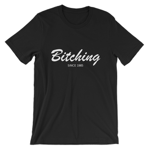 Bitching Unisex T-Shirt, Collection Nicknames-Black-S-Tamed Winds-tshirt-shop-and-sailing-blog-www-tamedwinds-com