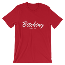 Bitching Unisex T-Shirt, Collection Nicknames-Red-S-Tamed Winds-tshirt-shop-and-sailing-blog-www-tamedwinds-com