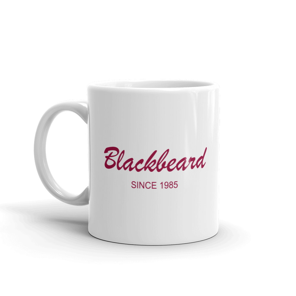 Blackbeard Mug 325 ml, Collection Pirate Tales-Tamed Winds-tshirt-shop-and-sailing-blog-www-tamedwinds-com