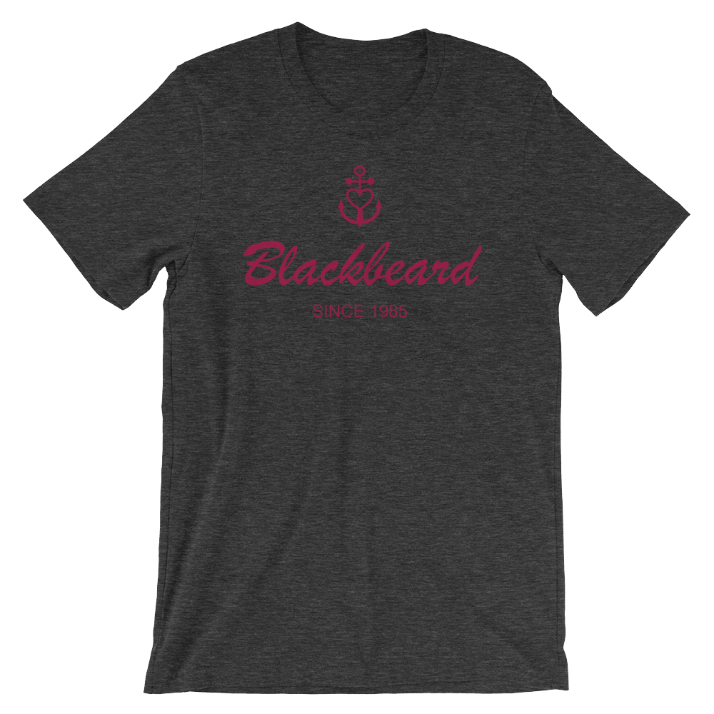 Blackbeard Unisex T-Shirt, Collection Pirate Tales-XS-Tamed Winds-tshirt-shop-and-sailing-blog-www-tamedwinds-com