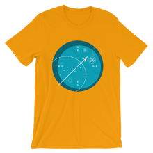 Compass Unisex T-Shirt, Collection Fjaka-Gold-S-Tamed Winds-tshirt-shop-and-sailing-blog-www-tamedwinds-com