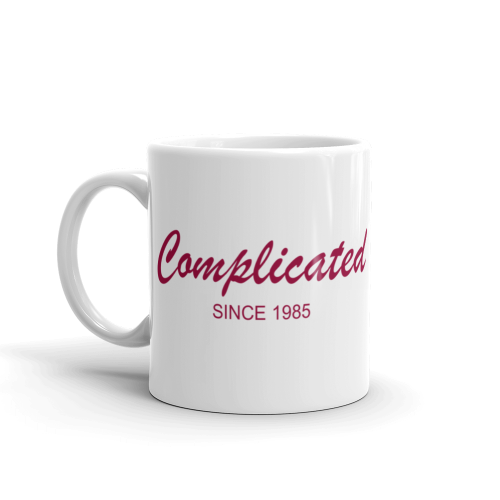 Complicated Mug 325 ml, Collection Nicknames-Tamed Winds-tshirt-shop-and-sailing-blog-www-tamedwinds-com