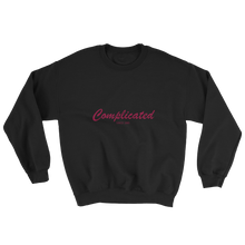 Complicated Unisex Crewneck Sweatshirt, Collection Nicknames-Black-S-Tamed Winds-tshirt-shop-and-sailing-blog-www-tamedwinds-com