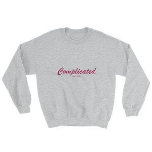 Complicated Unisex Crewneck Sweatshirt, Collection Nicknames-Sport Grey-S-Tamed Winds-tshirt-shop-and-sailing-blog-www-tamedwinds-com