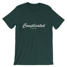 Complicated Unisex T-Shirt, Collection Nicknames-Forest-S-Tamed Winds-tshirt-shop-and-sailing-blog-www-tamedwinds-com