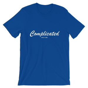 Complicated Unisex T-Shirt, Collection Nicknames-True Royal-S-Tamed Winds-tshirt-shop-and-sailing-blog-www-tamedwinds-com