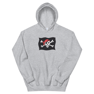 Courtesy Flag Unisex Hooded Sweatshirt, Collection Ships & Boats-Sport Grey-S-Tamed Winds-tshirt-shop-and-sailing-blog-www-tamedwinds-com