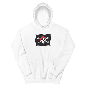 Courtesy Flag Unisex Hooded Sweatshirt, Collection Ships & Boats-White-S-Tamed Winds-tshirt-shop-and-sailing-blog-www-tamedwinds-com