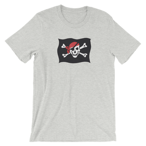 Courtesy Flag Unisex T-Shirt, Collection Ships & Boats-Athletic Heather-S-Tamed Winds-tshirt-shop-and-sailing-blog-www-tamedwinds-com