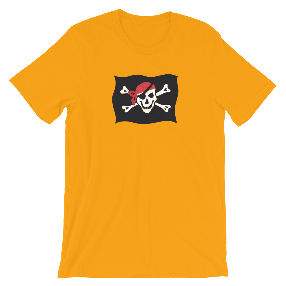 Courtesy Flag Unisex T-Shirt, Collection Ships & Boats-Gold-S-Tamed Winds-tshirt-shop-and-sailing-blog-www-tamedwinds-com