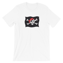 Courtesy Flag Unisex T-Shirt, Collection Ships & Boats-White-XS-Tamed Winds-tshirt-shop-and-sailing-blog-www-tamedwinds-com