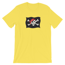 Courtesy Flag Unisex T-Shirt, Collection Ships & Boats-Yellow-S-Tamed Winds-tshirt-shop-and-sailing-blog-www-tamedwinds-com