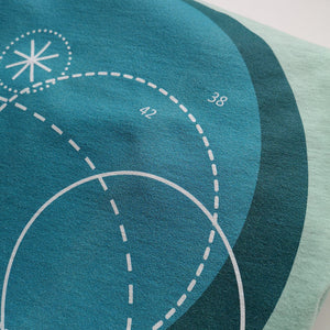 Deep Blue Unisex T-Shirt, Collection Fjaka-Tamed Winds-tshirt-shop-and-sailing-blog-www-tamedwinds-com