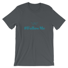 Follow Me Unisex T-Shirt, Collection Origami Boat-Asphalt-S-Tamed Winds-tshirt-shop-and-sailing-blog-www-tamedwinds-com