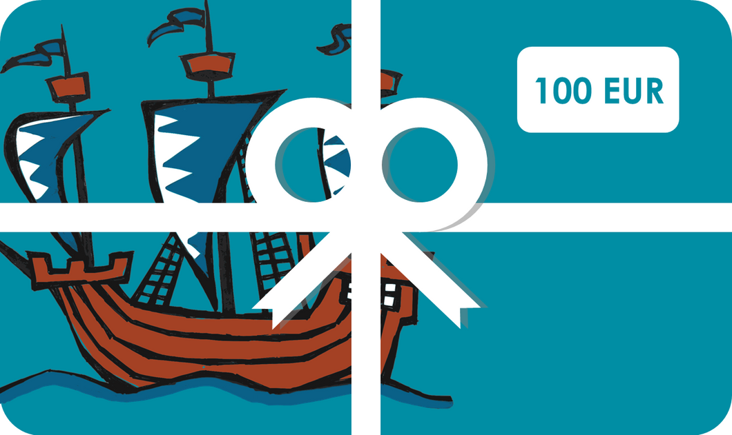 Gift Card 100-€100,00 EUR-Tamed Winds-tshirt-shop-and-sailing-blog-www-tamedwinds-com