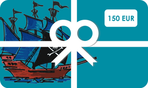 Gift Card 150-€150,00 EUR-Tamed Winds-tshirt-shop-and-sailing-blog-www-tamedwinds-com