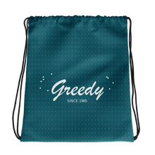 Greedy Drawstring Bag, Collection Nicknames-Tamed Winds-tshirt-shop-and-sailing-blog-www-tamedwinds-com