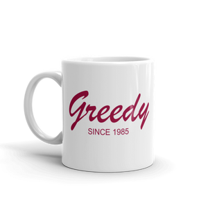Greedy Mug 325 ml, Collection Nicknames-Tamed Winds-tshirt-shop-and-sailing-blog-www-tamedwinds-com