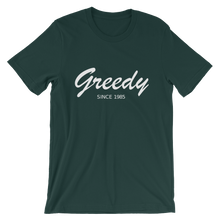Greedy Unisex T-Shirt, Collection Nicknames-Forest-S-Tamed Winds-tshirt-shop-and-sailing-blog-www-tamedwinds-com