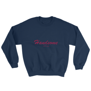 Handsome Unisex Crewneck Sweatshirt, Collection Nicknames-Navy-S-Tamed Winds-tshirt-shop-and-sailing-blog-www-tamedwinds-com