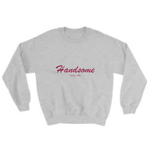 Handsome Unisex Crewneck Sweatshirt, Collection Nicknames-Sport Grey-S-Tamed Winds-tshirt-shop-and-sailing-blog-www-tamedwinds-com
