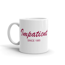 Impatient Mug 325 ml, Collection Nicknames-Tamed Winds-tshirt-shop-and-sailing-blog-www-tamedwinds-com