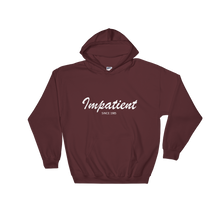 Impatient Unisex Hooded Sweatshirt, Collection Nicknames-Maroon-S-Tamed Winds-tshirt-shop-and-sailing-blog-www-tamedwinds-com