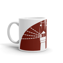 Lighthouse Mug 325 ml, Collection Fjaka-Tamed Winds-tshirt-shop-and-sailing-blog-www-tamedwinds-com