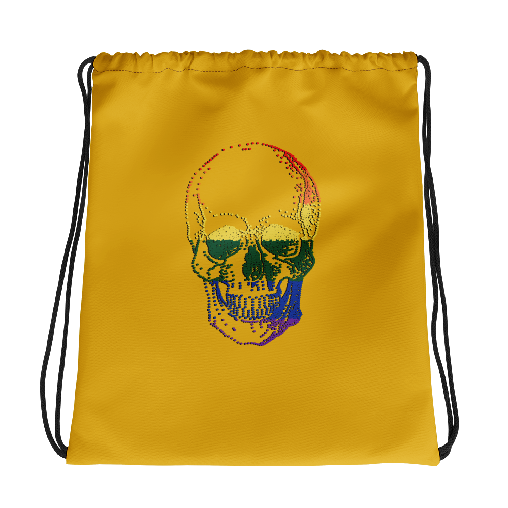 Love Skull Drawstring Bag, Collection Jolly Roger-Tamed Winds-tshirt-shop-and-sailing-blog-www-tamedwinds-com