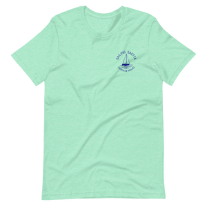 Sailing Saetta Unisex T-Shirt-Heather Mint-S-Tamed Winds-tshirt-shop-and-sailing-blog-www-tamedwinds-com