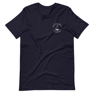 Sailing Saetta Unisex T-Shirt-Navy-S-Tamed Winds-tshirt-shop-and-sailing-blog-www-tamedwinds-com
