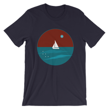 Northern Star Unisex T-Shirt, Collection Fjaka-Navy-S-Tamed Winds-tshirt-shop-and-sailing-blog-www-tamedwinds-com