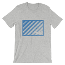 Paper Boat Unisex T-Shirt, Collection Origami Boat-Athletic Heather-S-Tamed Winds-tshirt-shop-and-sailing-blog-www-tamedwinds-com