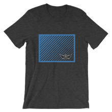 Paper Boat Unisex T-Shirt, Collection Origami Boat-Dark Grey Heather-S-Tamed Winds-tshirt-shop-and-sailing-blog-www-tamedwinds-com