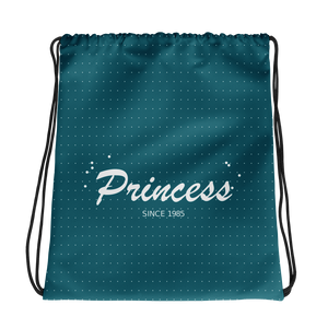 Princess Drawstring Bag, Collection Nicknames-Tamed Winds-tshirt-shop-and-sailing-blog-www-tamedwinds-com