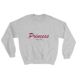 Princess Unisex Crewneck Sweatshirt, Collection Nicknames-Sport Grey-S-Tamed Winds-tshirt-shop-and-sailing-blog-www-tamedwinds-com