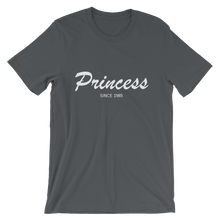 Princess Unisex T-Shirt, Collection Nicknames-Asphalt-S-Tamed Winds-tshirt-shop-and-sailing-blog-www-tamedwinds-com