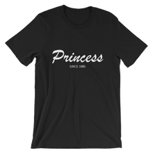 Princess Unisex T-Shirt, Collection Nicknames-Black-S-Tamed Winds-tshirt-shop-and-sailing-blog-www-tamedwinds-com