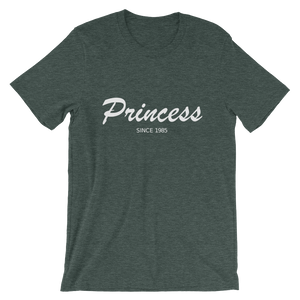 Princess Unisex T-Shirt, Collection Nicknames-Heather Forest-S-Tamed Winds-tshirt-shop-and-sailing-blog-www-tamedwinds-com