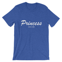 Princess Unisex T-Shirt, Collection Nicknames-Heather True Royal-S-Tamed Winds-tshirt-shop-and-sailing-blog-www-tamedwinds-com