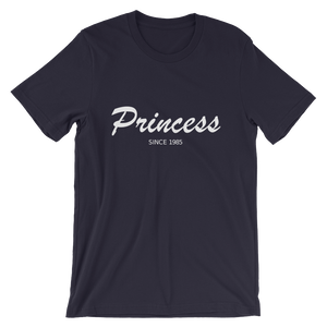Princess Unisex T-Shirt, Collection Nicknames-Navy-S-Tamed Winds-tshirt-shop-and-sailing-blog-www-tamedwinds-com