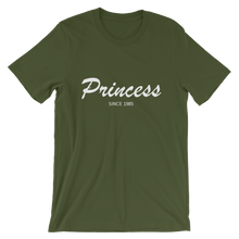 Princess Unisex T-Shirt, Collection Nicknames-Olive-S-Tamed Winds-tshirt-shop-and-sailing-blog-www-tamedwinds-com