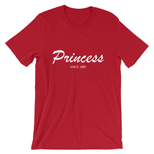 Princess Unisex T-Shirt, Collection Nicknames-Red-S-Tamed Winds-tshirt-shop-and-sailing-blog-www-tamedwinds-com